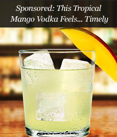 Sponsored: This Tropical Mango Vodka Feels... Timely