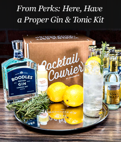 From Perks: Here, Have a Proper Gin & Tonic Kit