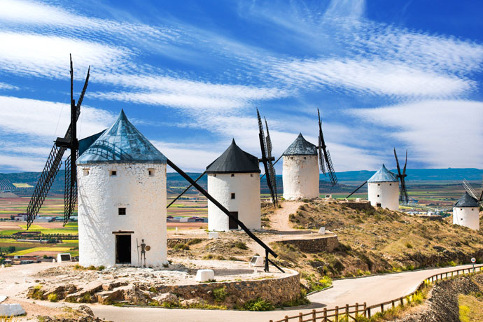 Don Quixote Wants to Show You Around Spain
