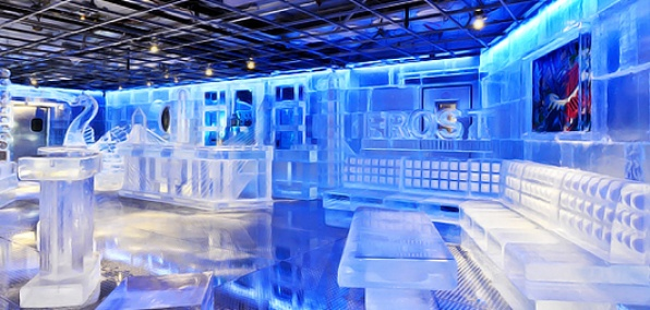 Frost Ice Lost Boston A Faneuil Bar Made Entirely Of Ice