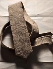 UrbanDaddy - Burlap Necktie from Nikolai Rose