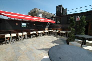 Brass Monkey roof deck