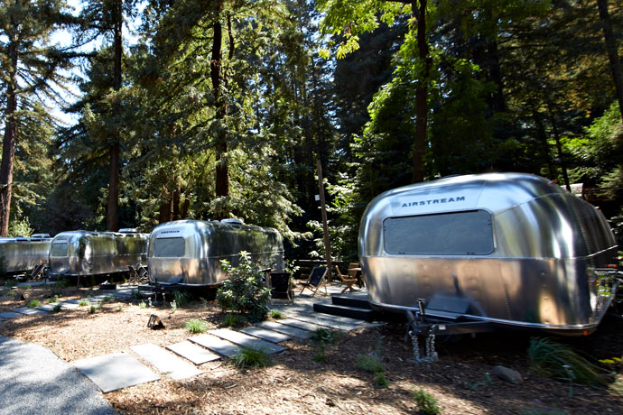 Your Weekend Involves Fire, Wine and an Airstream