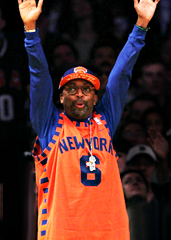 Courtside with Spike Lee