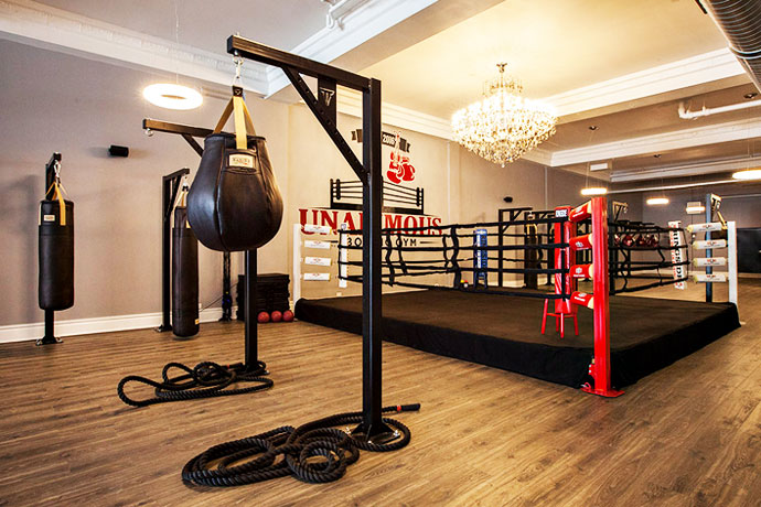 Unanimous boxing gym chicago this