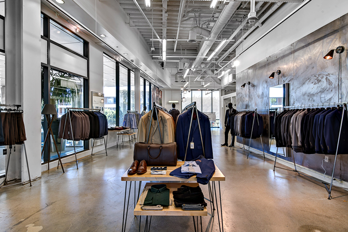 Combatant Gentlemen Becomes a Real Store