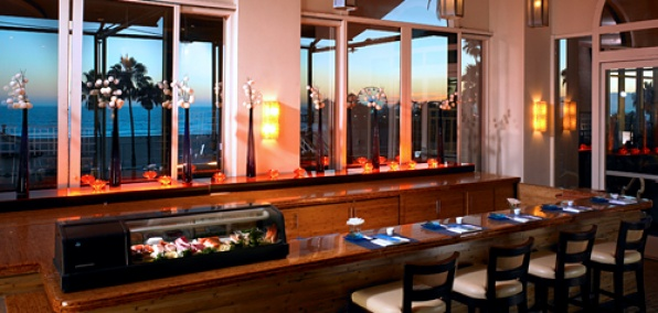 Sushi at Sunset
