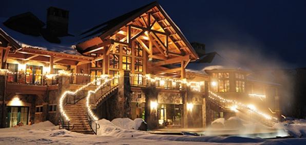 Snowcat Skiing at Three Forks Ranch