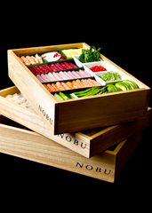 Nobu Hand Roll Box Delivery | Nobu Sushi at Your Place. With a Sushi ...