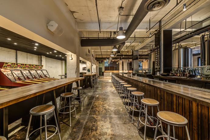 Arts district brewing company los angeles beer and - Interior design companies los angeles ...