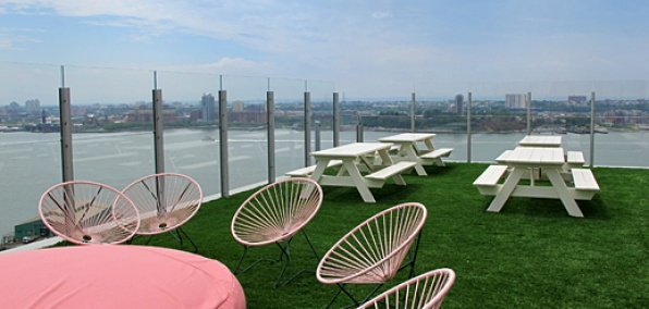 The Standard Hotel Rooftop