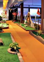 Mini-Golf at Strike Miami