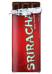 Sriracha Chocolate Bars