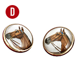 UD - A Tiny Pair of Horses for Your Wrists