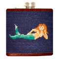 UD - A Mermaid Needlepoint Flask