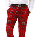 UD - Girton Plaid Wool Pants