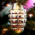 UD - Grenade Christmas Ornaments