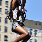 UD - You, Ziplining Through Manhattan