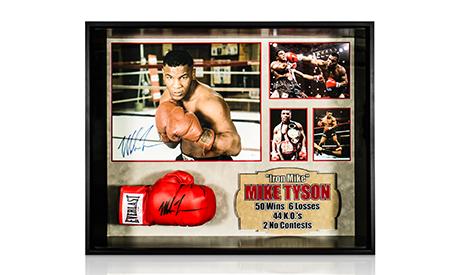 Signed Boxing Memorabilia