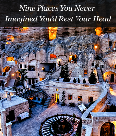 Nine Places You Never Imagined You'd Rest Your Head