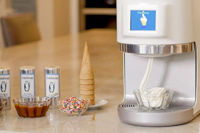 coldsnap ice cream machine