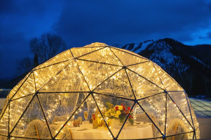 aspen meadows igloo aspen