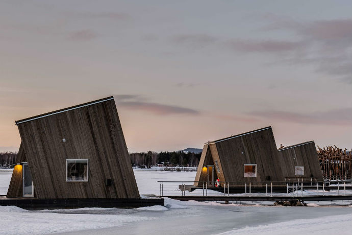 Arctic Bath Hotel cabins