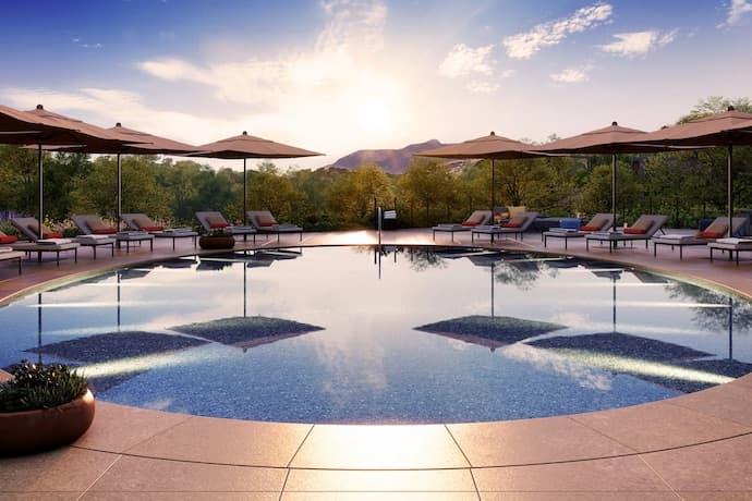 Montage Healdsburg pool