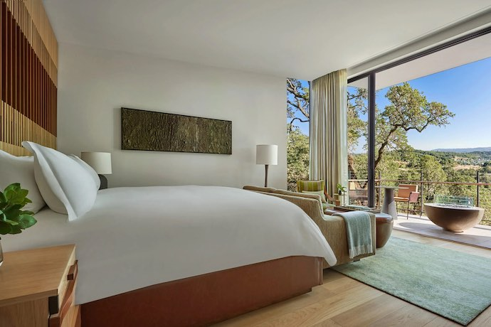Montage Healdsburg guest room