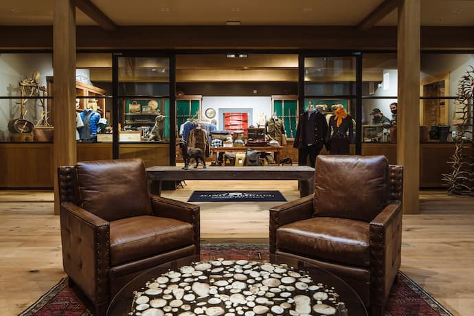 Wing & Barrel Ranch clubhouse