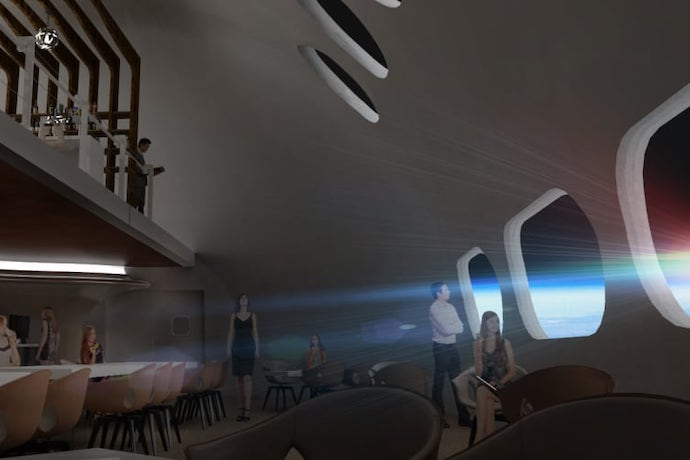 voyager station restaurant rendering