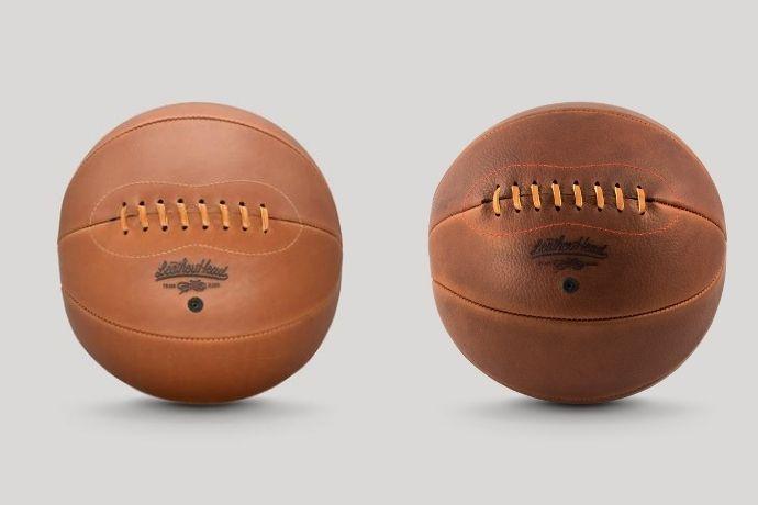 leather head basketballs