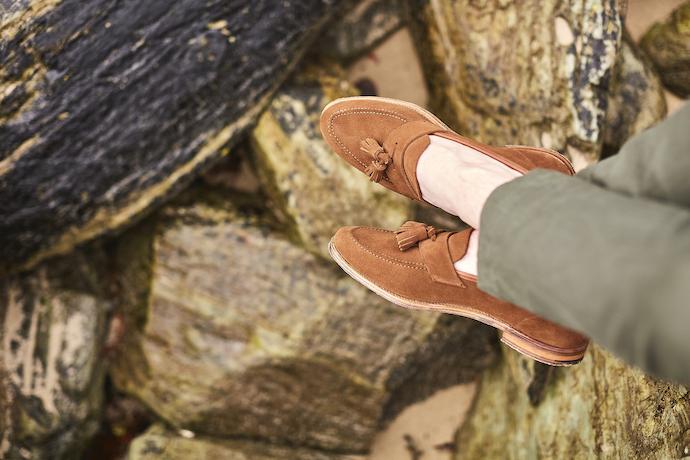 Crockett & Jones unstructured loafers