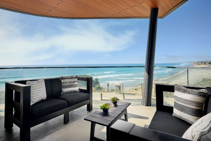 Alila Marea Beach Resort Encinitas balcony