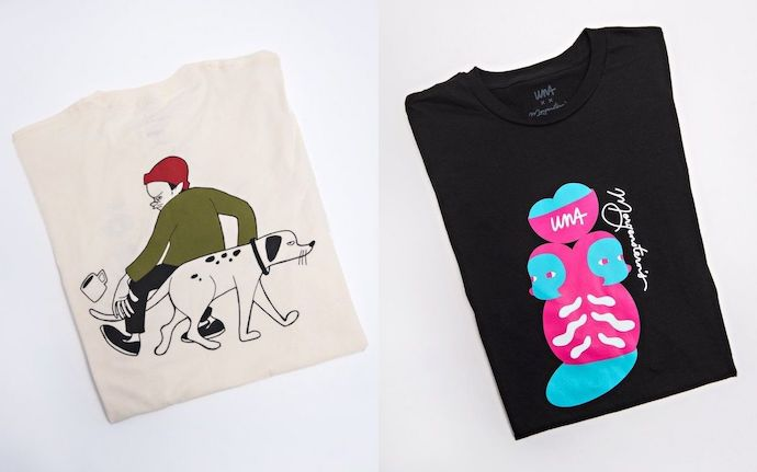 Una Collection t-shirts