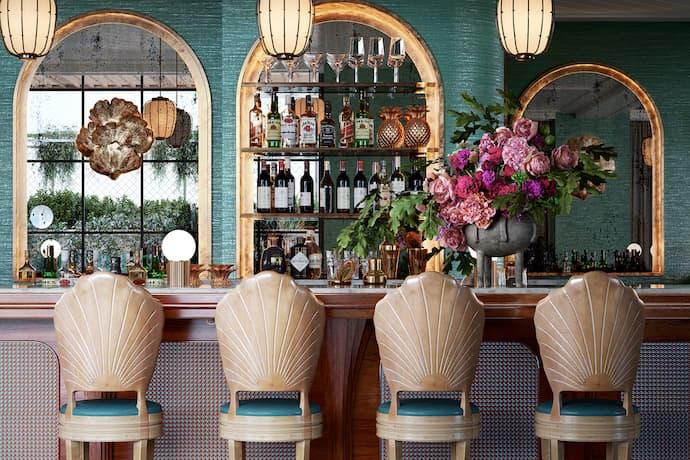 The Goodtime Hotel bar