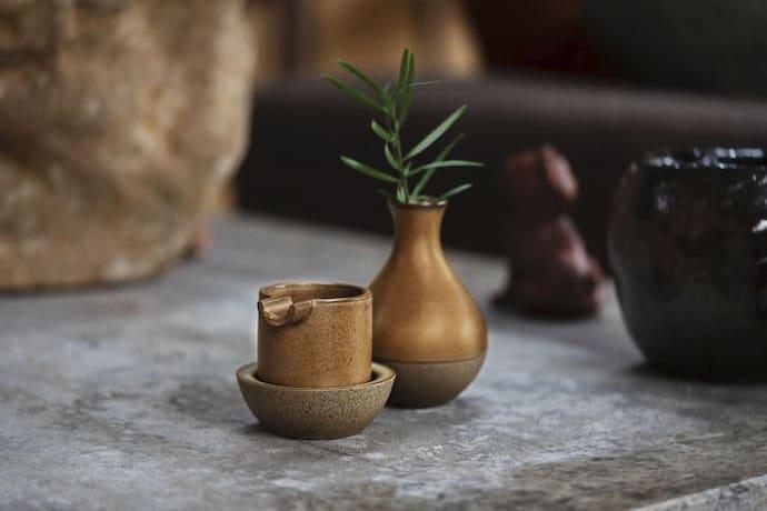 houseplant ash tray and vase