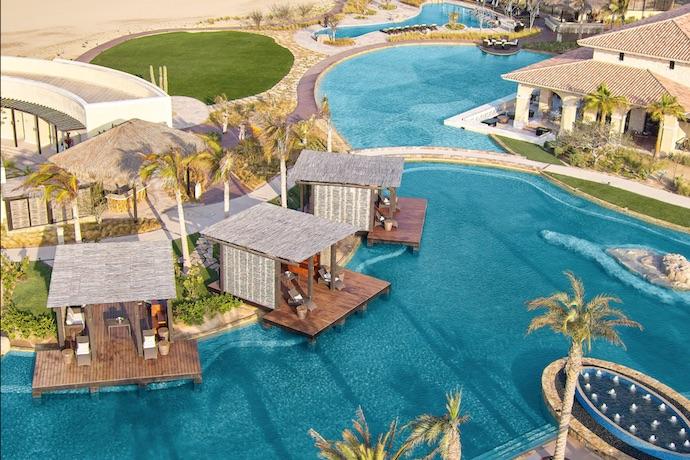 grand solmar Rancho San Lucas lagoon pool