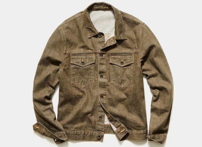 todd snyder legent bourbon selvedge jacket