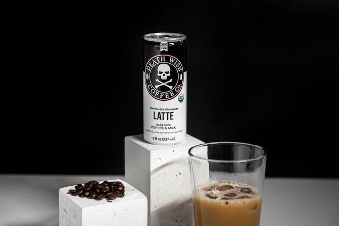 Death Wish Coffee world's strongest latte