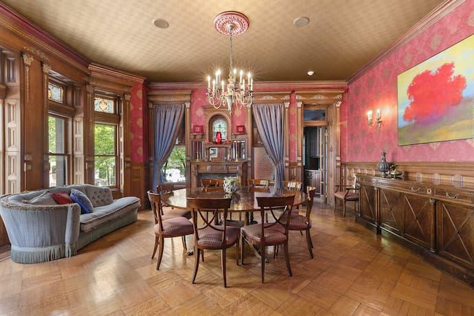 royal tenenbaums house dining room