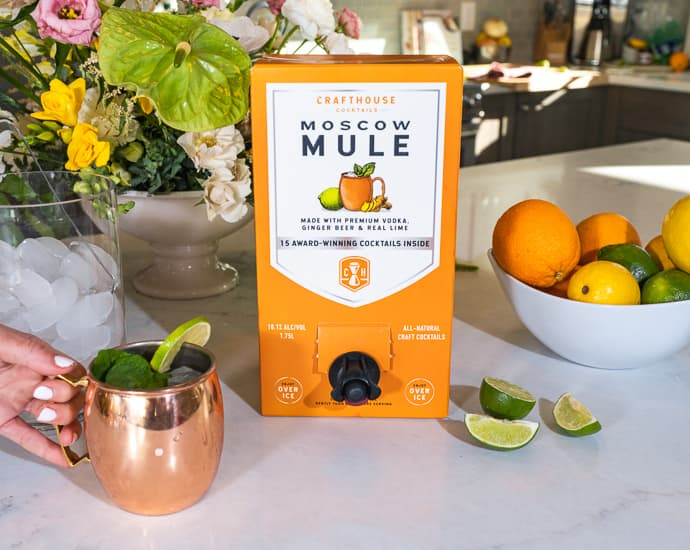 crafthouse cocktails moscow mule in a box