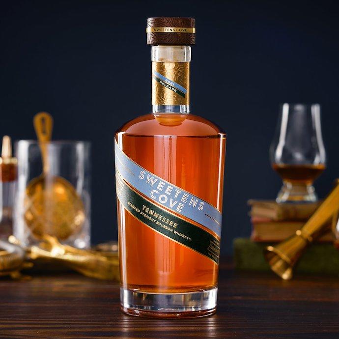 sweetens cove tennessee bourbon bottle