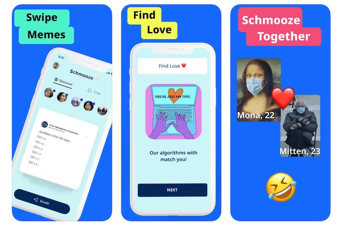 schmooze dating app