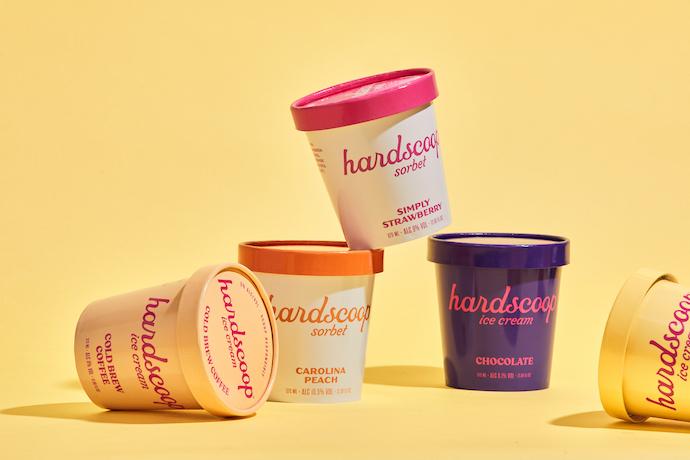 hardscoop ice cream pints