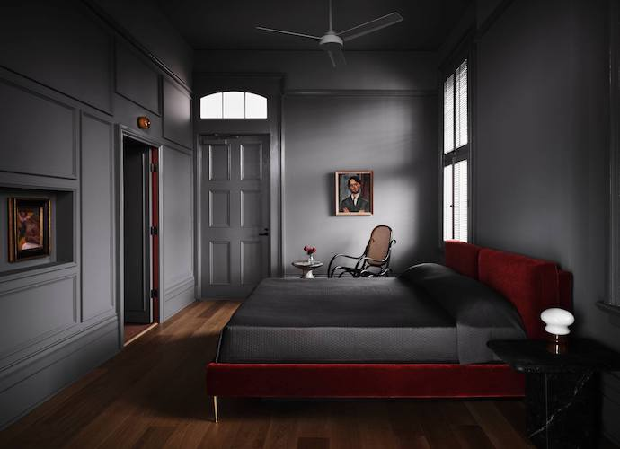 Hotel Saint Vincent guest room