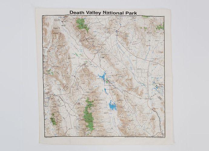 death valley national park pocket square