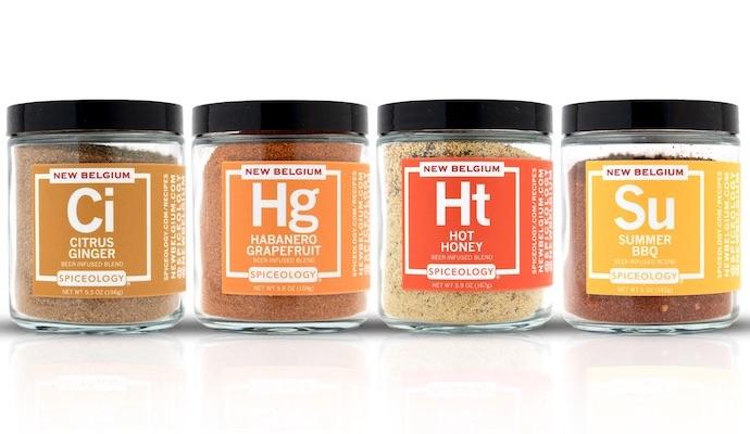 Spiceology New Belgium Brewing seasonings