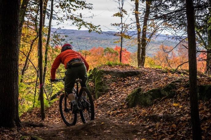 Recal mountain biking in the Berkshires