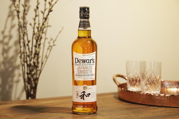 Dewar's japanese smooth whisky
